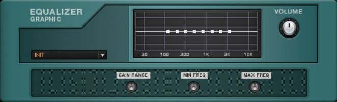 Equalizer EQ Graphic 7.2 EQ Graphic The EQ Graphic About This module uses band-pass filters to