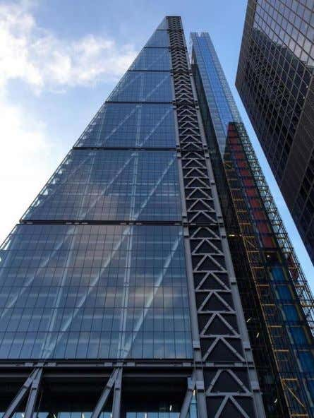 Leadenhall Building, London, UK, 2014, Richard Rogers Arch, Ove Arup Struct Eng