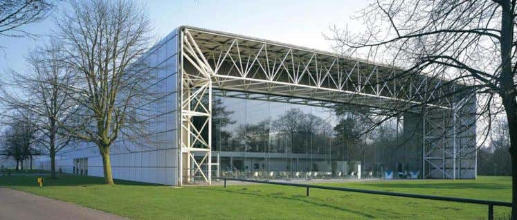 Sainsbury Centre for Visual Arts , Norwich, UK, 1978, Norman Foster Arch, Anthony Hunt Struct
