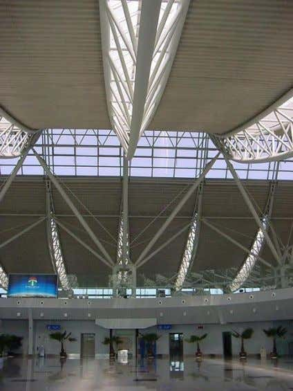 Shenyang Taoxian International Airport , 2001, Huilai Yao architect