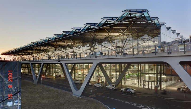 Cologne/Bonn Airport , Germany, 2000, Helmut Jahn Arch., Ove Arup USA Struct. Eng