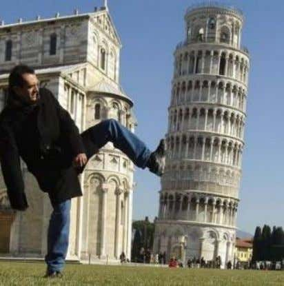 The Leaning Tower of Pisa (54 m), Italy, 1174