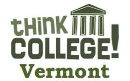Process Application Person-Centered Planning College Plan of Study Peer Mentors University of Vermont, 2013