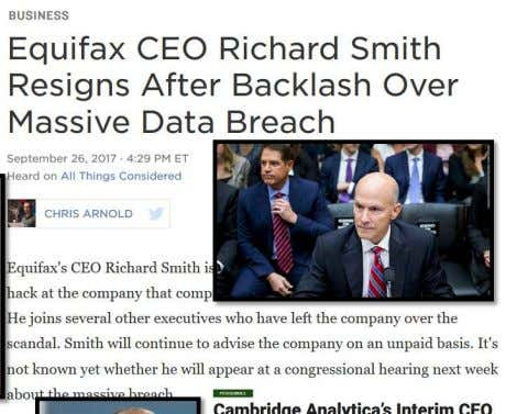 PRIVACY COMMISSION https://www.npr.org/2017/09/26/55 3799200/equifax-ceo-richard-smith-