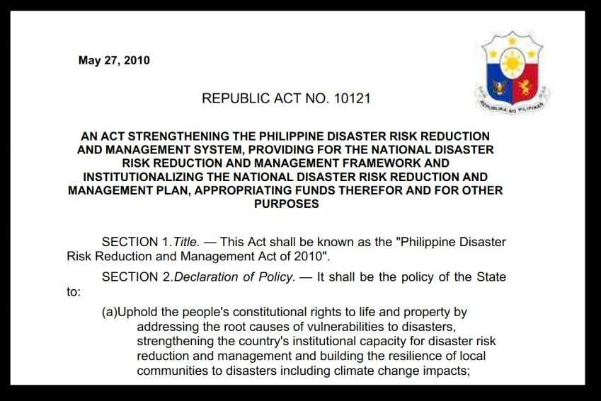 PROPERTY OF THE NATIONAL PRIVACY COMMISSION RESILIENCE AND THE FILIPINO SPIRIT
