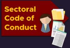 Sectoral Code of Conduct