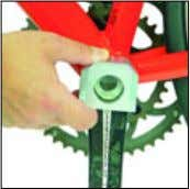cranks to use with extractor 720249 only Art.-Nr.: 720310 Abzieher Power Torque-Aluminiumkurbeln crank extractor