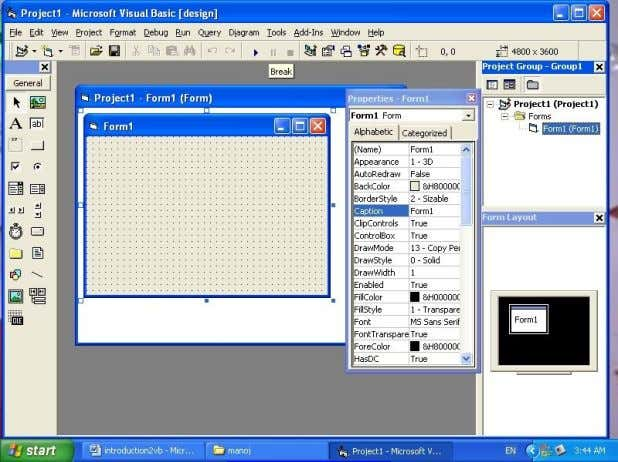 Visual Basic IDE Basic Features of Visual Basic Visual Basic supports following features 1. Data Access