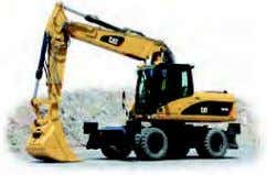 Excavators (Wheeled) M313D M315D M316D M318D M322D M325D Buckets Couplers Grapples Contractors' Grapples Trash Grapples