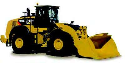 Wheel Loaders (Medium) 950K 962K 966K 972K 980K Blades Brooms Angle Special Application Buckets Couplers