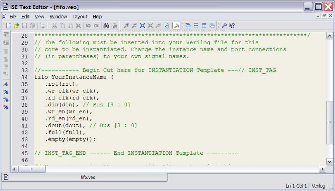 Instantiation Template is Provided Jim Duckworth, WPI Jim Duckworth, WPI 23 23 Synthesis and Timing -