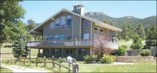180 degree Continental Divide views. $2,999,000 MLS#608539 1484 Creekside Ct. On Golf Course-Snow Capped Divide