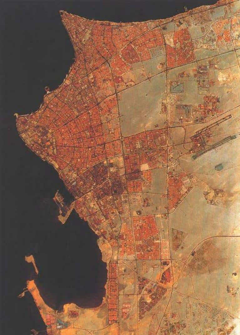 Public Authority The Environmental Strategy of the State of Kuwait, 2002 Plate 1-4 Kuwait City and