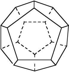 may be derived from octahedron O 3 C 4 h dodecahedron tetrahedron T d 4 C
