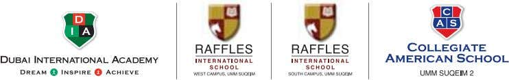 Raffles International School, South Campus +9714 427 1261/62 Collegiate American School www.innoventureseducation.com