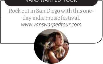 Rock out in San Diego with this one- day indie music festival. www.vanswarpedtour.com