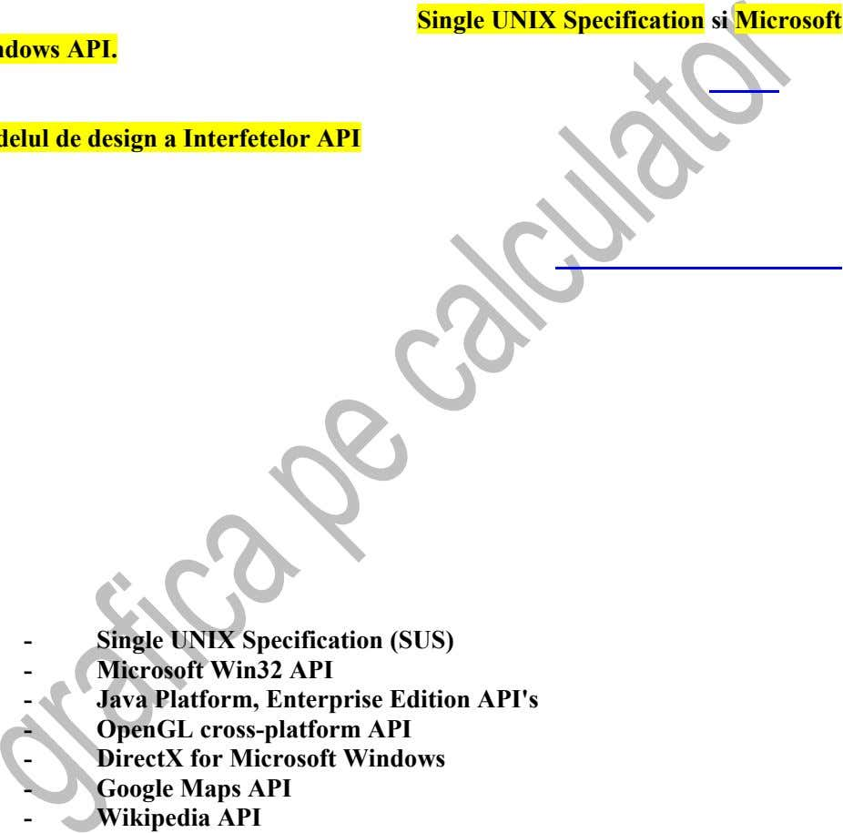 Single UNIX Specification si Microsoft - Single UNIX Specification (SUS) - Microsoft Win32 API -