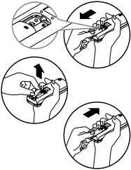 3. Reattach the cover by pushing it back into position. NOTICE • Use 2 AAA(1.5volt) batteries.