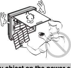 electrical shock. • They are sharp and may cause injury. Do not step on the indoor/outdoor