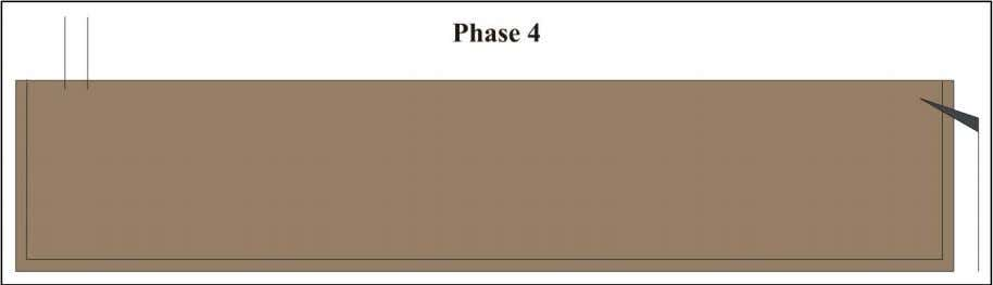 density, which should result in a shorter loading time. Figure 1-4: Phase 4 of the loading