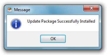 after the update manager will finish updating the product. After download is completed, close all open