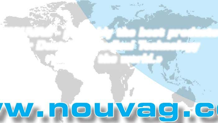+49 7531 1290-12 Mail info-de@nouvag.com www.nouvag.com «NOUVAG - probably the best products for Dental &