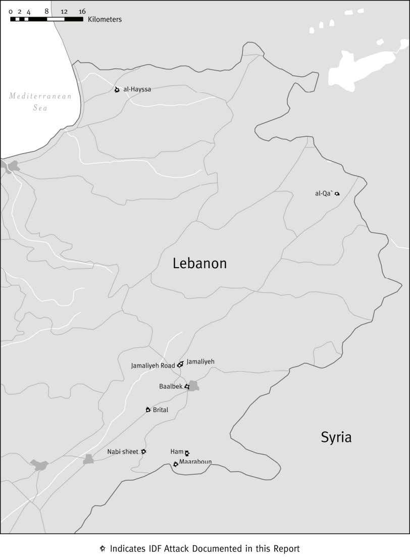 Map: Northern Lebanon © 2007 John Emerson 3 Human Rights Watch September 2007