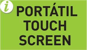 PORTÁTIL TOUCH SCREEN