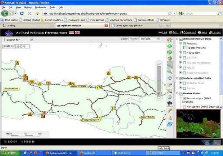 software dan database. GIS Berbasis Web/Online Mapping Website : http://www.dutainformasi.com - Email :