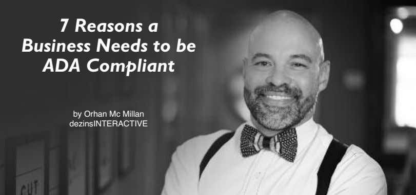 7 Reasons a Business Needs to be ADA Compliant by Orhan Mc Millan dezinsINTERACTIVE