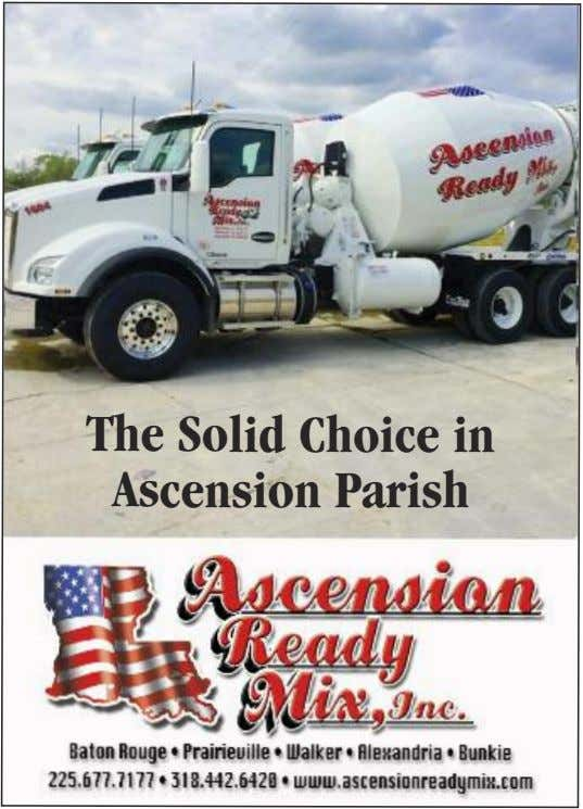 The Solid Choice in Ascension Parish