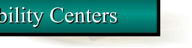 Centers Centers