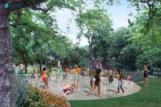 27 City Annex Park- Work on-going with G. Pic. Complete. Splash Pad 21