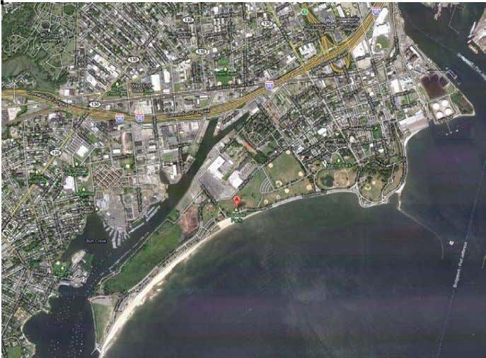 of the proposed bicycle route network is to provide access to Seaside Park from the West