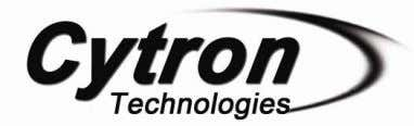 PR24 PID MOTOR CONTROLLER Version 1.0 October 2009 Cytron Technologies Sdn. Bhd. Information contained in