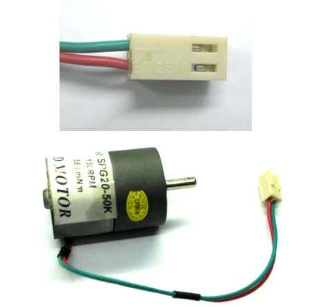 41(not included in DIY project set) DC motor connector: Figure 42 Make sure the polarity of
