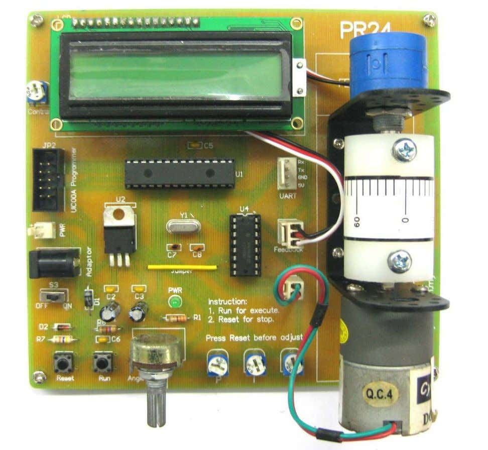 ROBOT . HEAD to TOE PR24 – PID Motor Controller * Cytron Technologies reserved the right