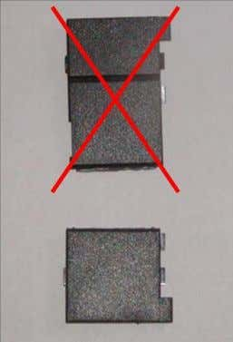 cover into two pieces. Do not throw away the smaller part! 5. Take RS 232 communication
