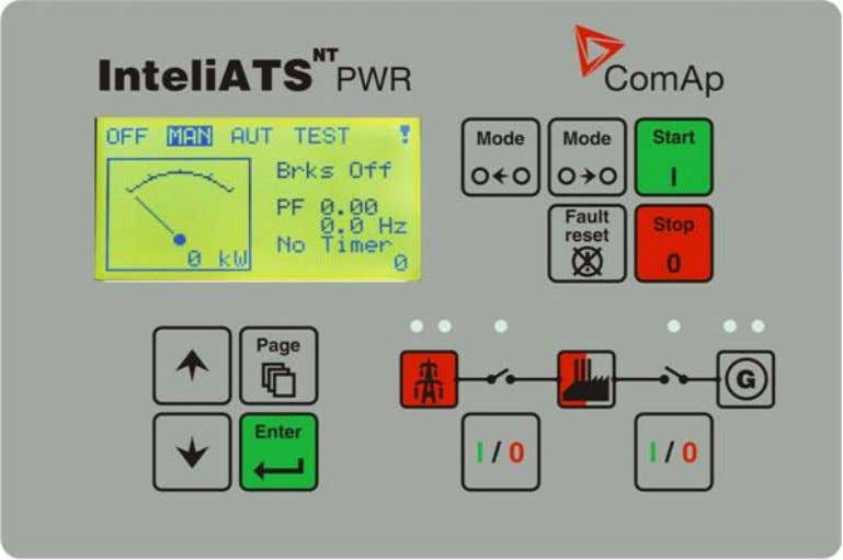 Terminals IA-NT PWR terminals and face InteliATS N T PWR, SW version 2.5, ©ComAp – May