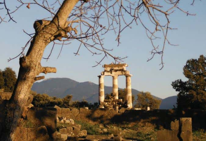 The mainland Delphi The Municipality of Delphi at the heart of Greece According to Greek mythology,