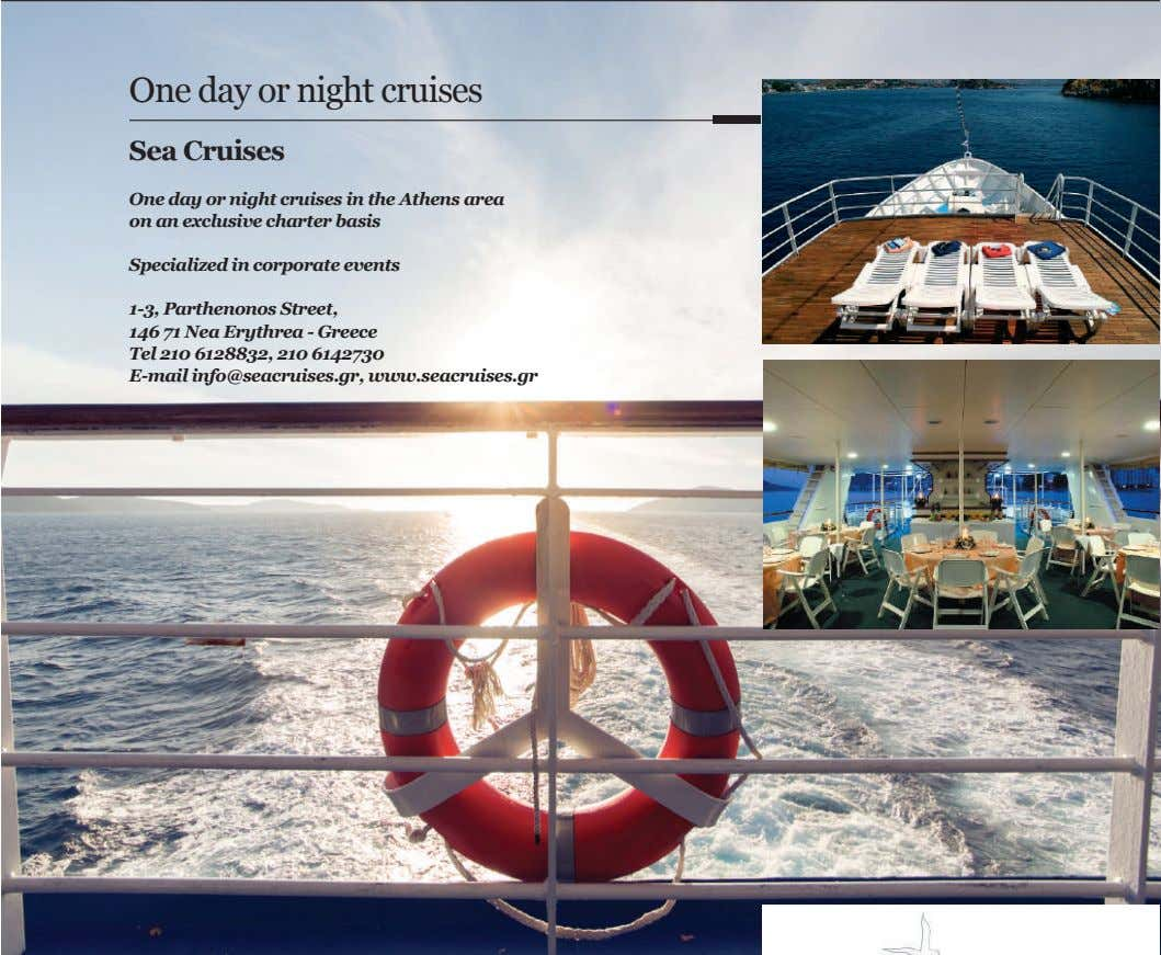 One day or night cruises Sea Cruises One day or night cruises in the Athens