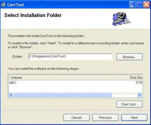 installation path, press the NEXT button to continue… …the installation program n ow prompts for confirmation