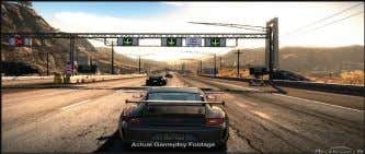 Top 5 Games of 2010: 5.- Need For Speed Hot Pursuit: Escape from the police at