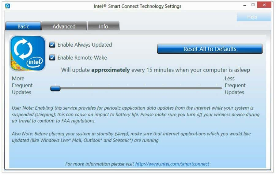 more frequent updates, but may cause more power consumption. Using Smart Connect 1. Keep the applications