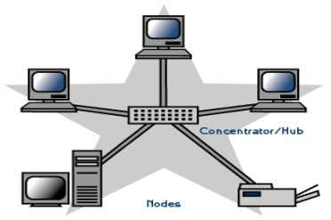 network, only if the hub fails will the network be affected. Advantages of Star Network 