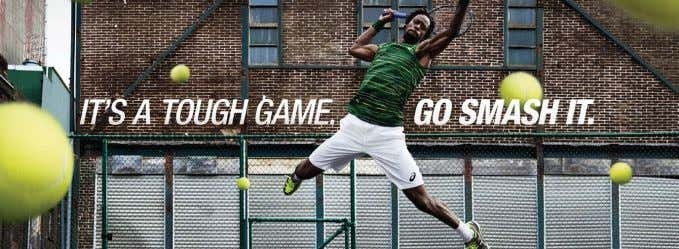 Industry News Monfils Stars in New Asics Tennis Campaign A sics has launched a global tennis
