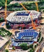 USTA Billie Jean King Nation- al Tennis Center. This photo was 10 Tennis Industry July 2015