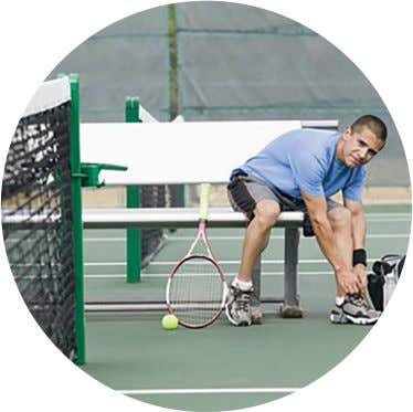 court surface for optimum performance. By Bob Patterson W hat's on the bottom of your shoe?